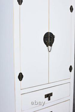 Chine Armoire Asie Meuble Chinoiserie Commode Vintage Buffet Haut Feng Shui