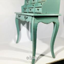 Shabby Chic Schreibsekretär Console Rokoko Coiffeuse Console Commode, Armoire